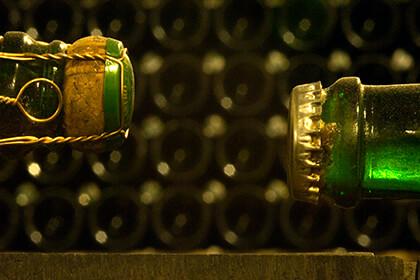 Le bottiglie di Franciacorta