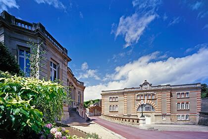 Gli edifici della Maison di Champagne Ayala